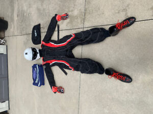 Karting Gear / Clothing - Sparco Suit, boots, gloves