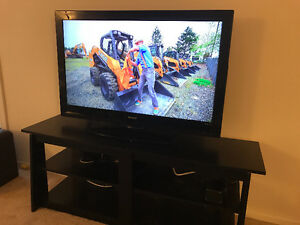 42 in LAD sharp for sale and sofa tv bench