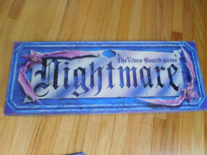 Vintage Nightmare Boardgame and Video Games (3)