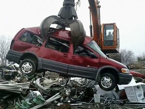 WANTED !!! ! CARS AND TRUCKS FOR SCRAP & METAL** CASH PAID**