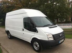 Ford Transit 2.2TDCi T350 / 125 Bhp / LWB / High Roof / 2013.