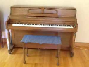 Gerhard Piano and Bench