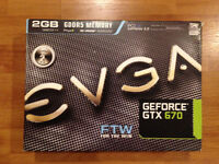 EVGA Geforce GTX 670 FTW 2Gb