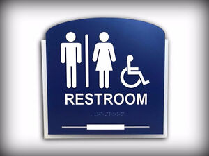 Braille and Tactile ADA / ADOA Custom Designed Signs Kitchener / Waterloo Kitchener Area image 2