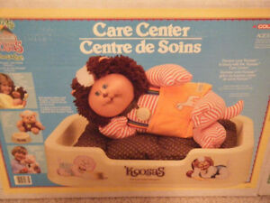 "Vintage Cabbage Patch Kid ""Koosas"" pet bed"
