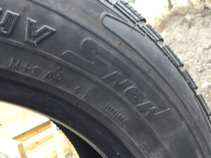 18 inch winter tires