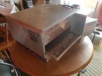"Lincoln impinger conveyor belt pizza oven 16"""