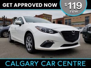 2015 Mazda3 $119B/W TEXT US FOR EASY FINANCING! 587-582-2859