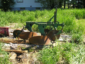 Implements for 3 point hitch & a bucket for front end loader