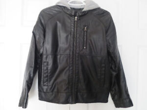 Faux Leather Jacket for boys