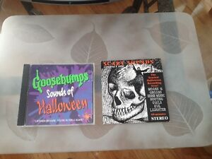 Halloween Scary Sounds CD,s