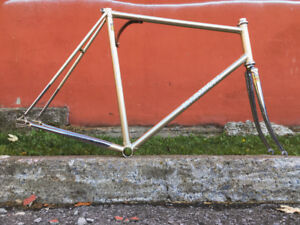 Rare Brand New Marinoni Lugged Chromoly Steel Frame Columbus SL