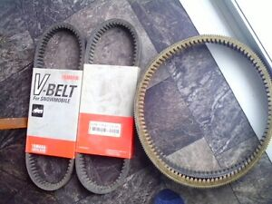 3 brand new belts and another used slightly for a vk 540