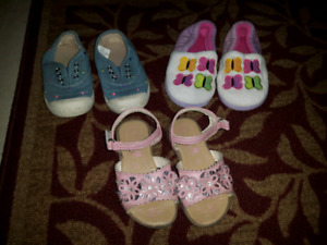 Lot of girl shoes size 8
