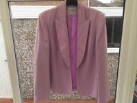 Ladies lilac suit size 16