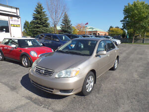 2004 Toyota Corolla LE ONLY $4750!