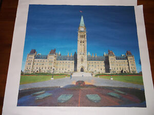 Parliament Hill Print on Canvas