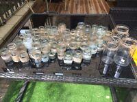 58 Hessian decorated jars