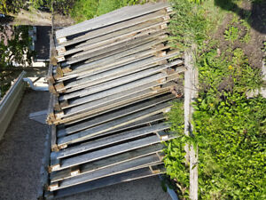 Fence sections..pressure treated