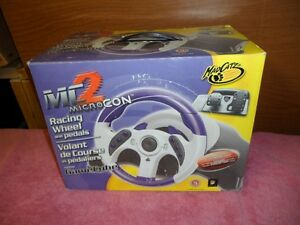 NINTENDO GAMECUBE DRIVING SET MADCATZ MC2 $40