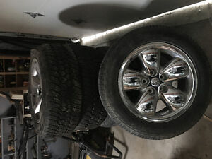 """18"""" Dodge Ram rims and tiers"""