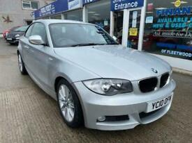 image for 2010 10 BMW 1 SERIES 2.0 118D M SPORT 2DOOR COUPE SILVER MANUAL 141 BHP DIESEL