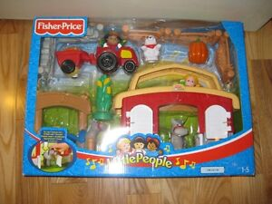 NEW fisher price little people farmset