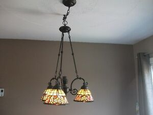 TIFFANY LAMPS QUOIZEL INC LIKE NEW