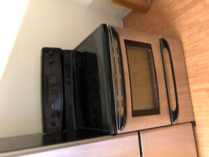 """kenmore stainless steel 30"""" electric glass stove range oven"""