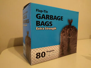 "Garbage Bags for 75 L containers 26x32.5"" (66x82.5cm)"