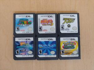 Lot de plusieurs jeux Nintendo DS
