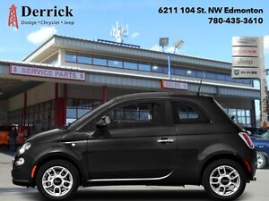 2016 Fiat 500   Used 2Dr POP Low Milge Asin Tran Alloys $105 B/W