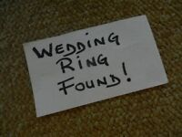 FOUND!!! WEDDING RING!!!!