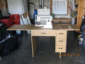 Sewing Machine and Cabinet