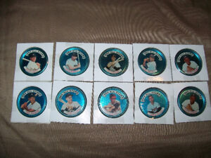 32 Topps All Star Baseball Coins 1960s,Great Condition
