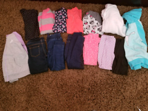 GIRLS SIZE 5/6 CLOTHING LOT ONLY $30