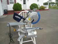 Mastercraft Dual-Bevel Sliding Miter Saw 10-in""
