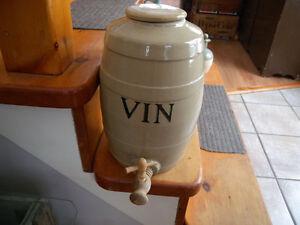 Antiquité - Cruche à Vin - 40$