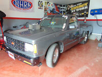 S10 pick up 1987 for Drag and Street (Complete kit)