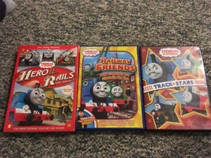 3 Thomas the Train DVDs