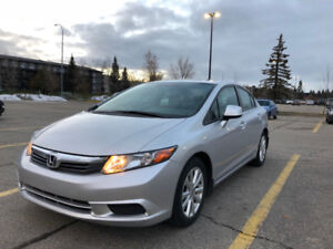 Honda Civic EX 2012 - No Accidents, Low Mileage only 48 Kms