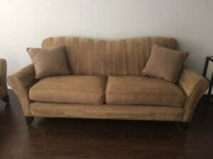 MICROFIBRE COUCH AND LOVESEAT FOR SALE