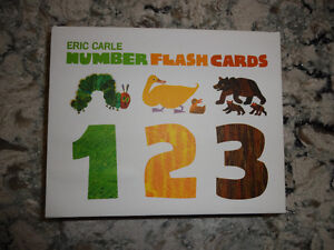 LIKE NEW Eric Carle Number Flash Cards