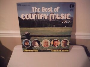 THE BEST OF COUNTRY MUSIC., VOL7 West Island Greater Montréal image 1