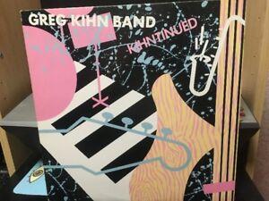 Vinyl-Greg Kihn Band- Kihntinued