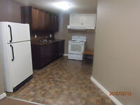 2 Bed Basement Suite in Coronation Park Regina