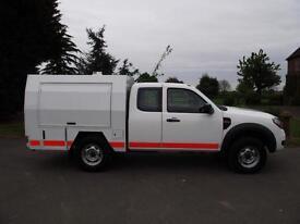 2010 60 FORD RANGER SINGLE SUPER-CAB 4X4 4WD 2.5TDCi WORKSHOP VAN TYPE PICKUP