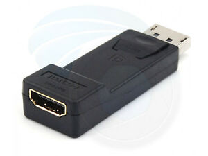 Display Port to HDMI Female Converter Adapter