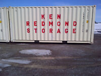 KEN REDMOND PORTABLE STORAGE UNITS
