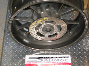 2011 bmw s-1000rr rear rim comp . low km,s oem